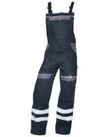 Montérkové nohavice COOL TREND reflex s náprsenkou