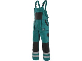 Montérkové nohavice CXS LUXY BRIGHT s náprsenkou