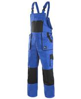 Montérkové nohavice CXS LUXY ROBIN s náprsenkou predĺžené (194 cm)