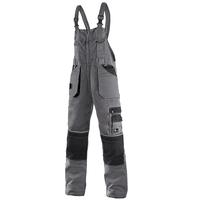 Montérkové nohavice CXS ORION KRYŠTOF s náprsenkou skrátené (170 cm)