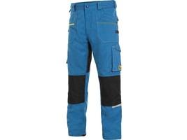 Montérkové nohavice CXS STRETCH do pása skrátené (170 cm)
