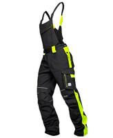 Montérkové nohavice NEON s náprsenkou predĺžené (194 cm)
