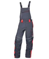 Montérkové nohavice NEON s náprsenkou skrátené (170 cm)