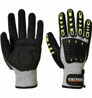 Neporezné rukavice A722 ANTI IMPACT máčané v nitrile