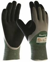Neporezné rukavice ATG MaxiCut OIL 34-305 máčané v nitrilovej pene