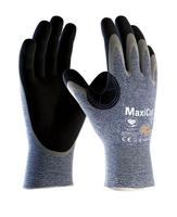 Neporezné rukavice ATG MaxiCut OIL 34-504 máčané v nitrile