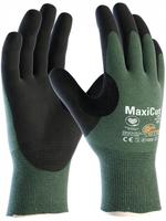 Neporezné rukavice ATG MaxiCut OIL 44-304 máčané v nitrilovej pene