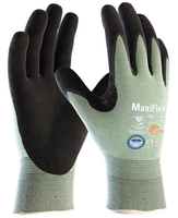Neporezné rukavice ATG MaxiFlex CUT 34-6743 máčané v nitrile