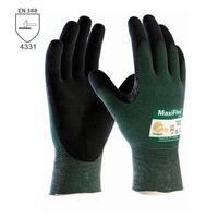 Neporezné rukavice ATG MAXIFLEX CUT 34-8743 máčané v nitrilovej pene