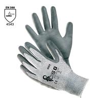 Neporezné rukavice CITA II máčané v polyuretáne