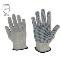 Neporezné rukavice CROPPER DOTS s PVC terčíkmi