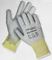 Neporezné rukavice DYKENO FABRIC ANTICUT5 máčané v polyuretáne