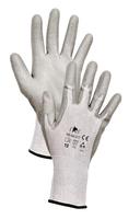 Neporezné rukavice FF STINT LIGHT HS-04-017 máčané v polyuretáne (s blistrom)