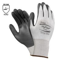 Neporezné rukavice HYFLEX 11-624 (Ansell) máčané v polyuretáne