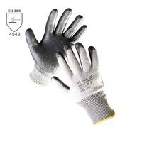 Neporezné rukavice RAZORBILL máčané v nitrile