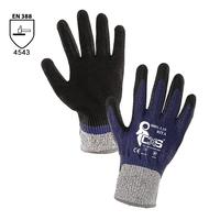 Neporezné rukavice RITA máčané v nitrile