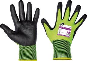 Neporezné rukavice SITTA PALM FH máčané v nitrile