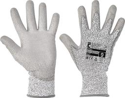 Neporezné rukavice STINT máčané v polyuretáne