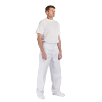 Nohavice APUS do pása pánske biele