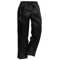 Nohavice C070 na šnúrku čierne