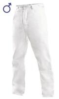 Nohavice CXS ARTUR do pása pánske biele