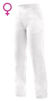 Nohavice CXS DARJA do pása dámske biele (145 g)