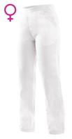 Nohavice CXS DARJA do pása dámske biele (190 g)