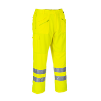 Nohavice E061 ACTION Hi-Vis do pása