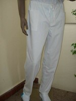 Nohavice ZIGO pánske biele na šnúrku