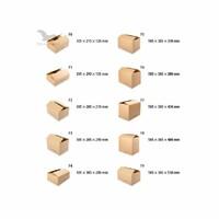 Obalový materiál CT6 - kartónová krabica