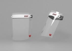Ochranný štít s logom ZIGO