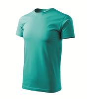 Tričko BASIC 160g smaragdovozelená S***