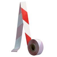 Páska bezpečnostná červeno-biela