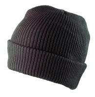 Pracovná čiapka CARL čierna