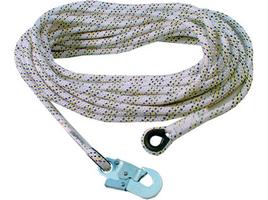 Pracovné lano AC 100 s karabínou, 10 m