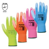 Pracovné rukavice A120 PU Palm máčané v polyuretáne