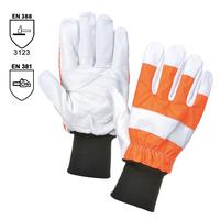 Pracovné rukavice A290 OAK CHAINSAW pilčícke