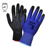 Pracovné rukavice A320 DEXTI-GRIP máčané v nitrilovej pene