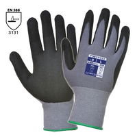 Pracovné rukavice A350 DermiFlex máčané v nitrilovej pene