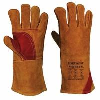 Pracovné rukavice A530 zváračské zosilnené