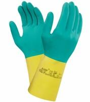 Pracovné rukavice ANSELL AlphaTec 87-900 kyselinovzdorné (ex BI-COLOUR)