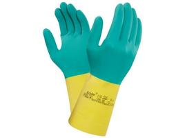 Pracovné rukavice ANSELL BI-COLOUR 87-900 kyselinovzdorné
