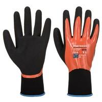 Pracovné rukavice AP30 Dermi Pro máčané v nitrilovej pene