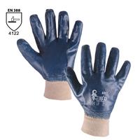 Pracovné rukavice ARET máčané v nitrile