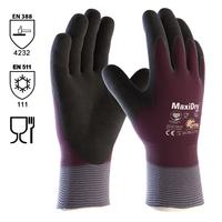 Pracovné rukavice ATG MaxiDry máčané v nitrilovej pene