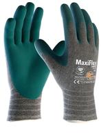 Pracovné rukavice ATG MaxiFlex COMFORT máčané v nitrilovej pene (balené)