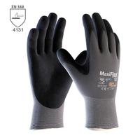 Pracovné rukavice ATG MaxiFlex ULTIMATE Ad-apt máčané v nitrilovej pene