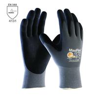 Pracovné rukavice ATG MaxiFlex ULTIMATE máčané v nitrilovej pene