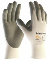 Pracovné rukavice ATG MaxiFoam 34-800 máčané v nitrilovej pene