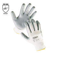 Pracovné rukavice BABBLER máčané v nitrile